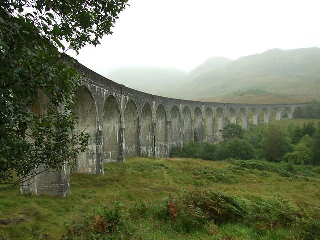 a train bridge in scotland